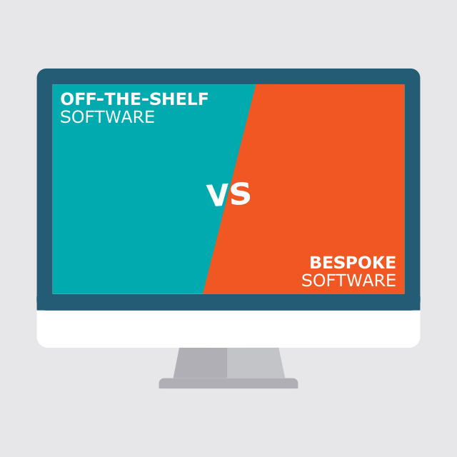 Off-the-shelf -vs Bespoke software development